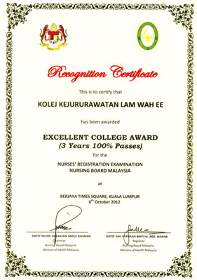 Excellent College Award